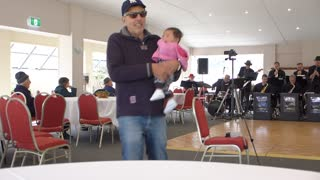 """Baby Elsarose  Learns to Dance to """"What a Wonderful World"""" - Video"""