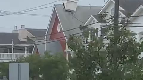 Steeple Ripped From Roof During Isais
