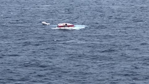 Norwegian Cruise Rescues Stranded Boat