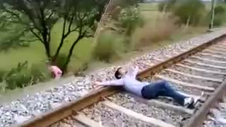 Horrible Train Accident - Video