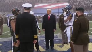 Tump At The Army Navy Game!