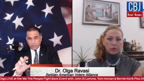 John Di Lemme Interviews Dr. Olga Ravasi, Founder & Chairwoman of Serbian American Voters Alliance