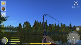 Russian Fishing 4 Old Burg Lake Grass Carp 5.738 Kg - Video