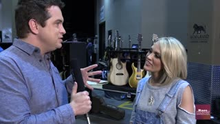 Carrie Underwood talks about her new swim suits | Rare Country - Video