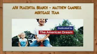 placentia mortgage lender - Video