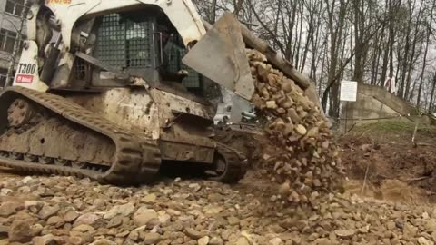 Footage Shows Russia Building COVID Hospital In 40 Days