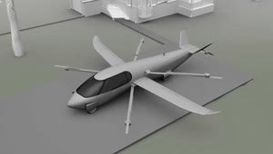 An airplane, helicopter and car, all in one - Video
