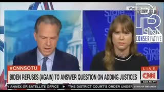 Even CNN Jake Tapper had to fact check the supreme court lie