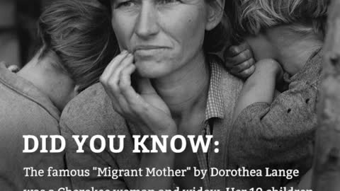 DYK: The Fate of the Migrant Mother