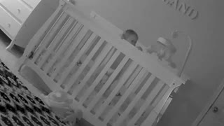 She's supposed to be asleep, instead she's dancing  - Video