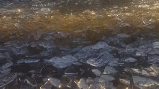 Nature Creates Beautiful Crystal Waves - Video