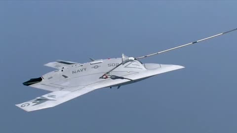 US Navy conducts first ever drone refuel mid-air