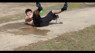 Water Balloon Slingshot Fail - Video