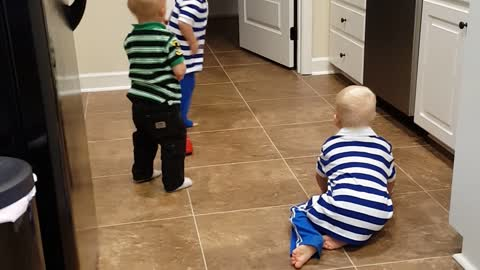 Dancing toddlers will brighten your day