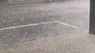 Torrential Hail Storm