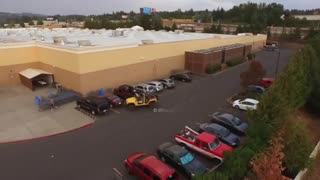 This Is Why You Never Steal A Jeep's Parking Spot  - Video