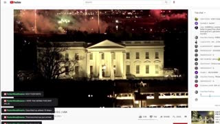 Fireworks at the White House JAN. 19th 2021