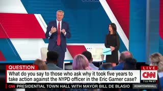 NYC Mayor de Blasio heckled over Eric Garner case