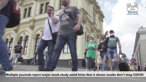 Multiple journals reject major mask study amid hints that it shows masks don't stop COVID
