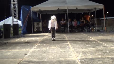 Willie The Entertainer - 2014 Winner at the Official Michael Jackson Tribute Fest in Gary In