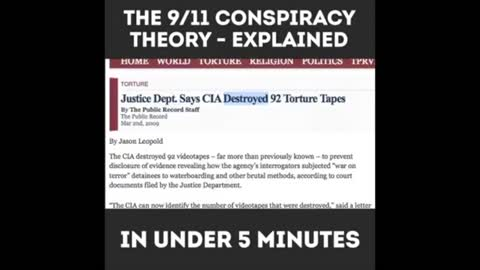 9/11 Explained In 5 Minutes (DTR)