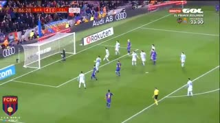 Gol de Rakitic vs Celta - Video