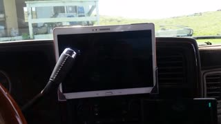 Lifehack: Clever way to install and mount ipad Tablet on your Dashboard in your car easy DIY  - Video