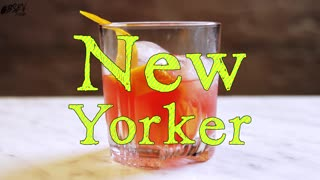 New Yorker Cocktail, Bring the Big Apple to Your Old Fashioned - Video