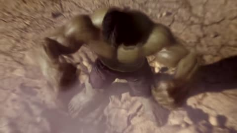 Superman vs Hulk - The Fight (Part 02)