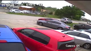 Woman Steals Car from Lot - Video