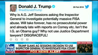 Chaffetz Says Sessions Should Leave DOJ, 'Almost Embarrassing' Trump Tweeted About Him - Video