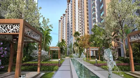 Gaur Sports Wood Housing Complex sector 79 Noida