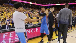 Russell Westbrook Shows His NEW Dance Moves & Shoes