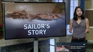 NCIS says Sailor Staged Own Racist Attack - Video