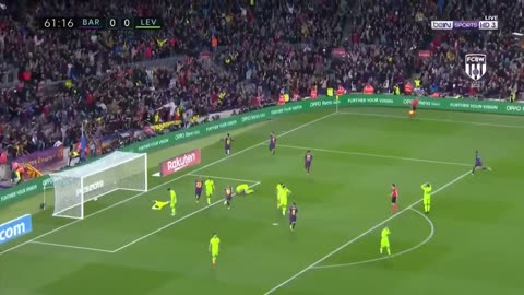 El golazo de Leo Messi vs Levante