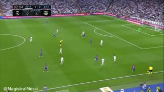 Lionel Messi vs Real Madrid - Video