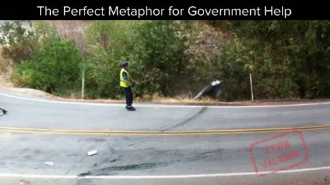 The Perect Metaphor for Government Help