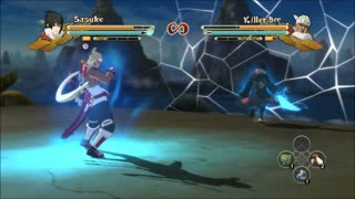 Naruto Ninja Storm 3 - Customized Gameplay With The Anime - Video