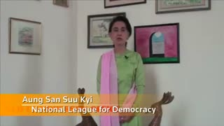 Myanmar's Suu Kyi calls for free and fair elections - Video
