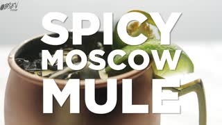 Spicy Moscow Mule - Spice It Up with Jalapenos - Video