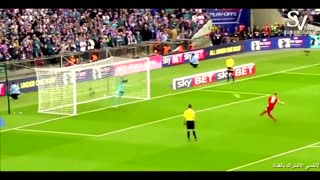 The strangest penalty kick you could see in your life