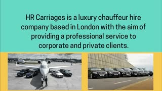 London chauffeur services - Video