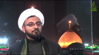 Shia Muslims gather around the Husayn shrine in Karbala - Video