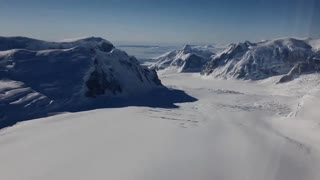 Melting Antarctica glaciers past the point of no return