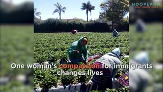 This Angel Helps Immigrant Field Workers Live A Better Life! - Video