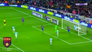 Gol de Neymar vs Celta Vigo - Video