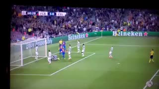 VIDEO: Messi hat-trick goal vs Celtic (5-0) - Video