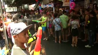 Water festival observed in Thailand amid major drought - Video