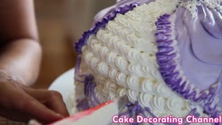 Cake Decorating Tutorial Barbie Doll Princess - Video