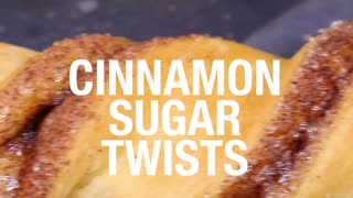 Cinnamon sugar twists - Video